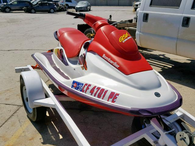 Bombardier salvage cars for sale: 1997 Bombardier SEA DOO