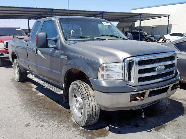 Salvage cars for sale from Copart Anthony, TX: 2006 Ford F250 Super