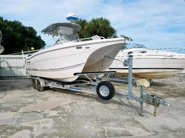 Salvage cars for sale from Copart Punta Gorda, FL: 2006 Other Boat