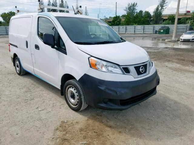 Salvage 2017 Nissan NV200 2.5S for sale