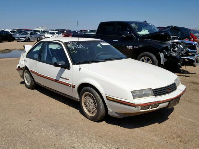 1g1lw14w5ke272168 1989 Chevrolet Beretta Gt In Tx Amarillo