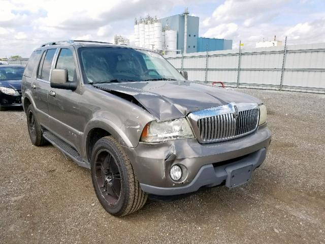 2003 Lincoln Aviator en venta en Chicago Heights, IL