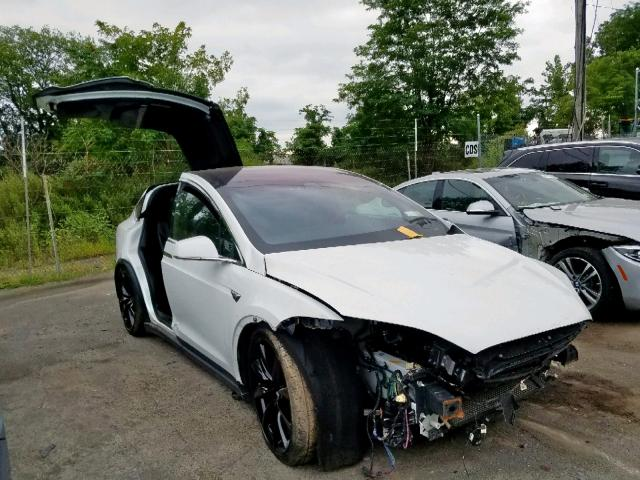 Salvage 2017 Tesla MODEL X for sale