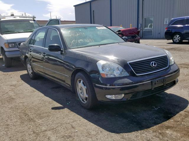 click here to view 2002 LEXUS LS 430 at IBIDSAFELY