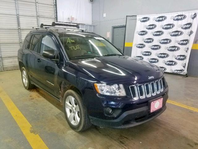 Jeep Compass LA salvage cars for sale: 2013 Jeep Compass LA