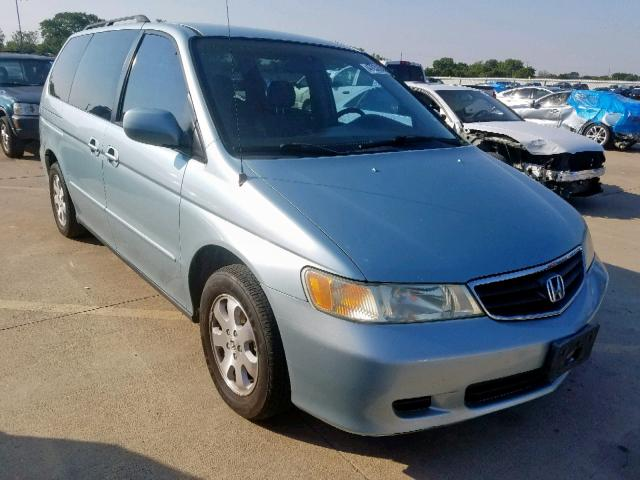 Salvage 2003 Honda ODYSSEY EX for sale