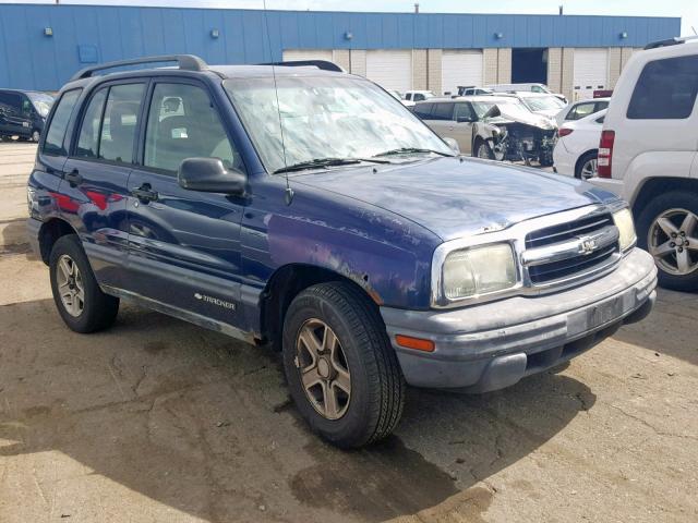 2003 Chevrolet Tracker 2 0l 4 For Sale In Woodhaven Mi Lot 47904329
