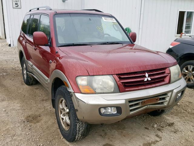 click here to view 2002 MITSUBISHI MONTERO LI at IBIDSAFELY
