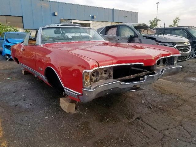 Oldsmobile salvage cars for sale: 1968 Oldsmobile 98