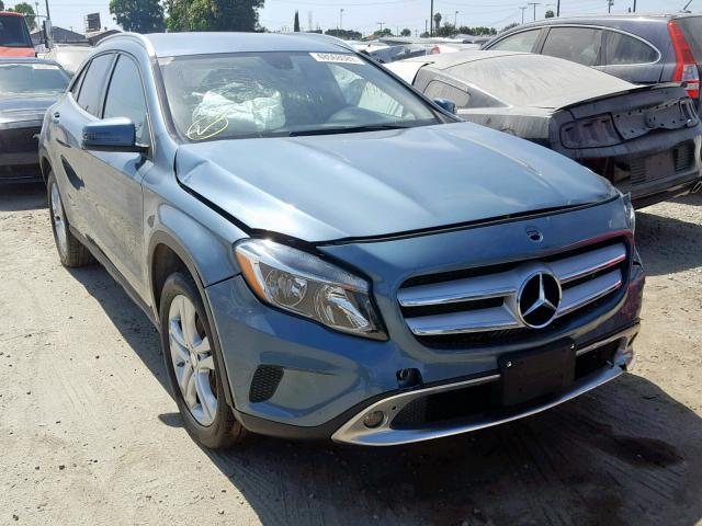 Salvage 2015 Mercedes-Benz GLA 250 4M for sale