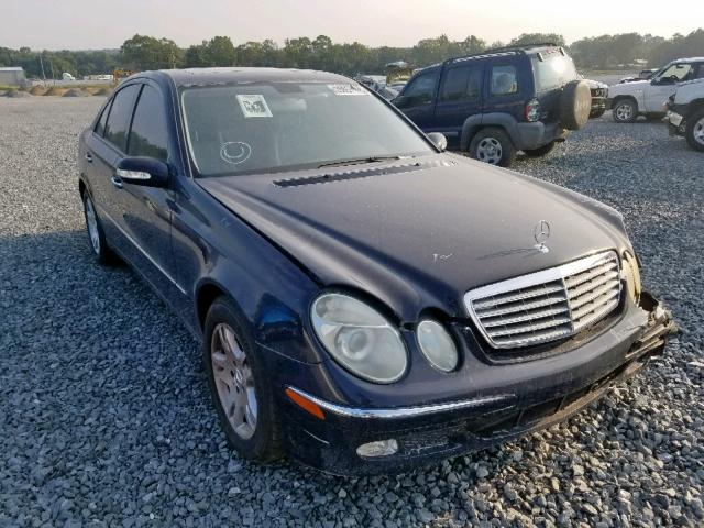 Salvage 2005 MERCEDES-BENZ E CLASS - Small image. Lot 25657169