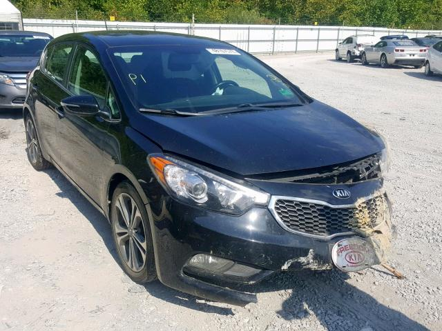 KIA Forte EX salvage cars for sale: 2016 KIA Forte EX