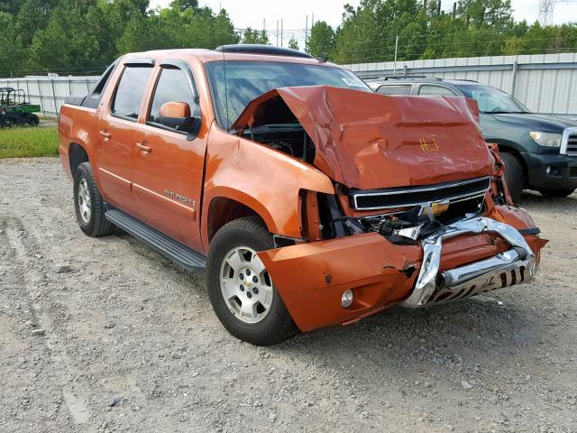 Salvage 2007 Chevrolet AVALANCHE for sale