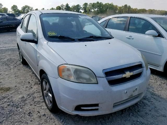 Salvage cars for sale from Copart Houston, TX: 2008 Chevrolet Aveo Base