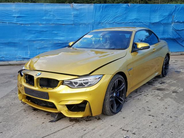 BMW M4 S-A - 2016 rok