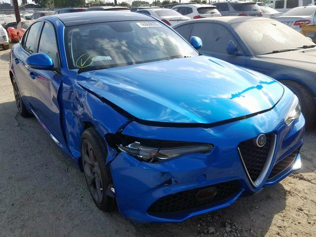 click here to view 2017 ALFA ROMEO GIULIA at IBIDSAFELY