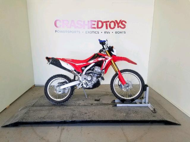 Salvage 2018 Honda CRF250 L for sale