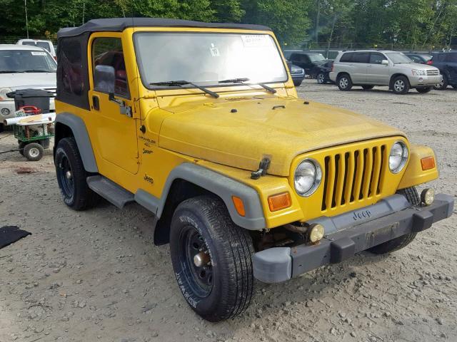 2000 Jeep Wrangler / 4.0L