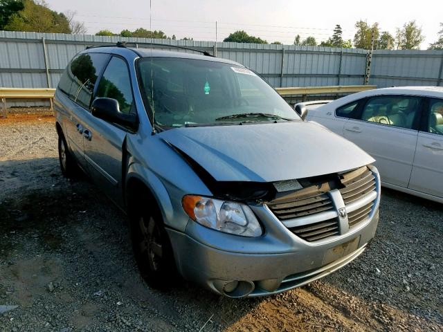 Salvage cars for sale from Copart Chatham, VA: 2006 Dodge Grand Caravan