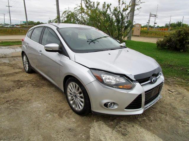 Salvage 2012 Ford FOCUS TITANIUM for sale