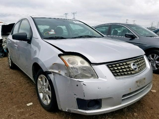 Salvage 2007 Nissan SENTRA for sale