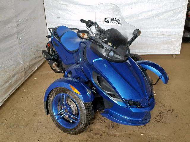 click here to view 2010 CAN-AM SPYDER ROA at IBIDSAFELY