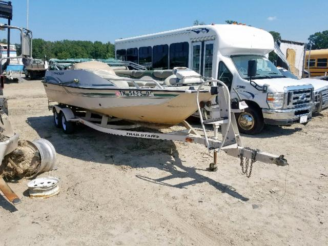 Suntracker Boat salvage cars for sale: 2000 Suntracker Boat