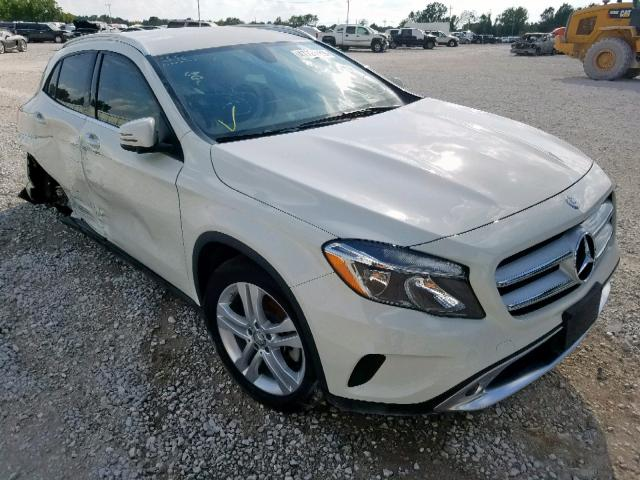 Salvage 2017 Mercedes-Benz GLA 250 4M for sale