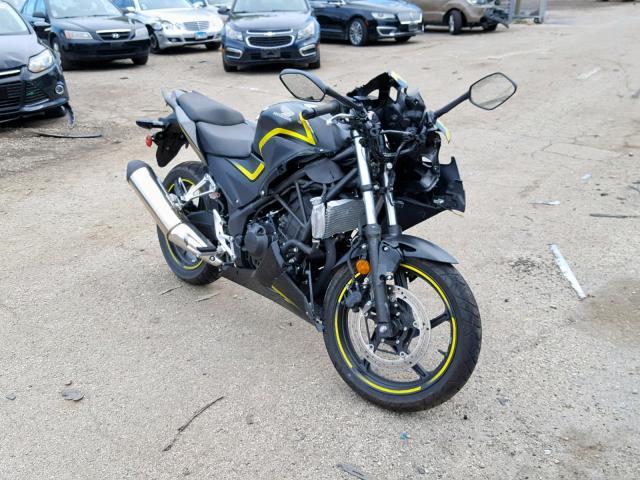 Salvage 2015 Honda CBR300 R for sale