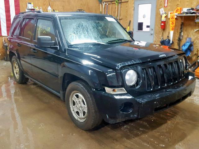 Salvage cars for sale from Copart Kincheloe, MI: 2008 Jeep Patriot SP