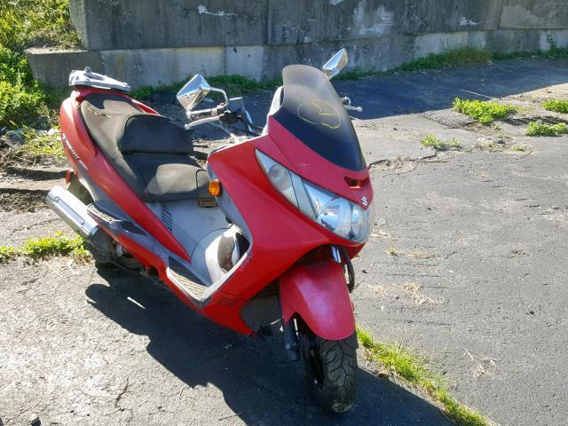 click here to view 2005 SUZUKI AN400 K3 at IBIDSAFELY