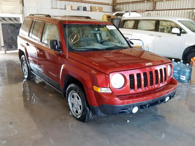 2013 Jeep Patriot Sp 2.0L