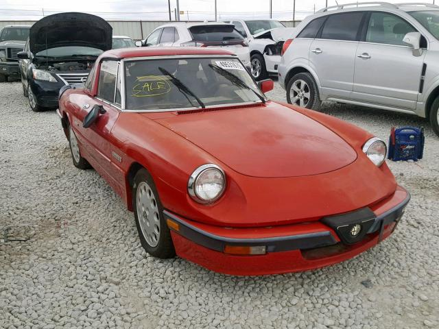click here to view 1990 ALFA ROMEO SPIDER QUA at IBIDSAFELY