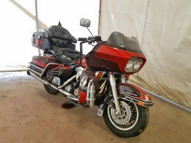 Salvage 1990 Harley-Davidson FLTC ULTRA for sale