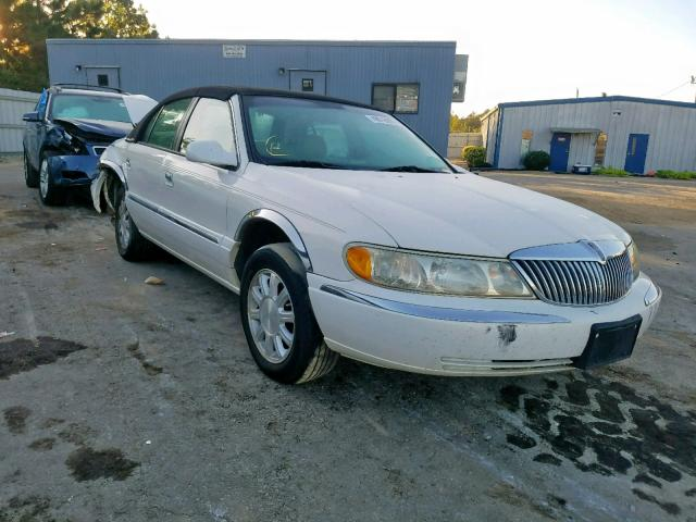 Lincoln Continental salvage cars for sale: 1999 Lincoln Continental