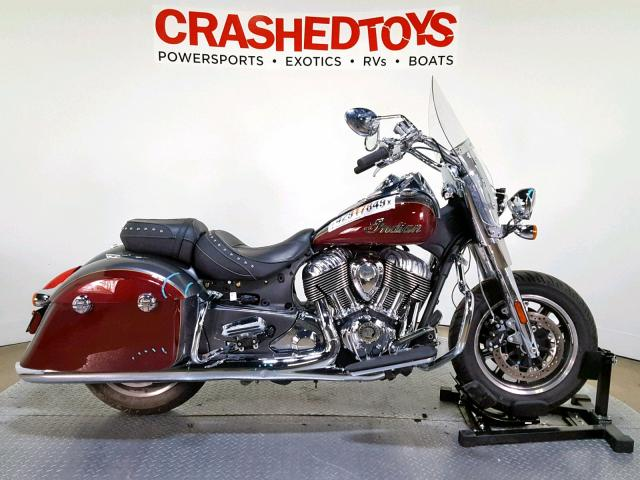 click here to view 2019 INDIAN MOTORCYCLE CO. SPRINGFIEL at IBIDSAFELY