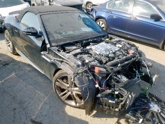 Salvage 2015 Jaguar F-TYPE V8 for sale
