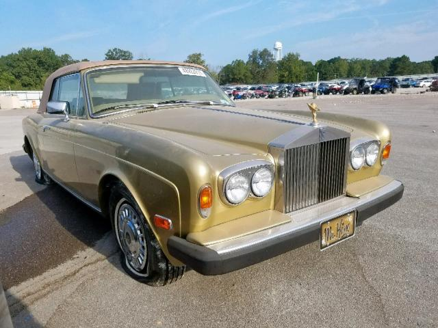 click here to view 1984 ROLLS-ROYCE CORNICHE at IBIDSAFELY