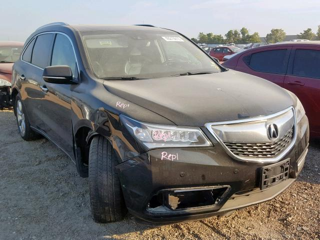 ACURA MDX ADVANCE 2016 фото