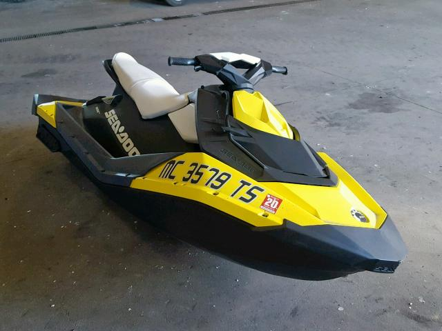 Seadoo Spark salvage cars for sale: 2014 Seadoo Spark