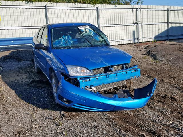 Salvage cars for sale from Copart Pekin, IL: 2007 Ford Focus ZX4