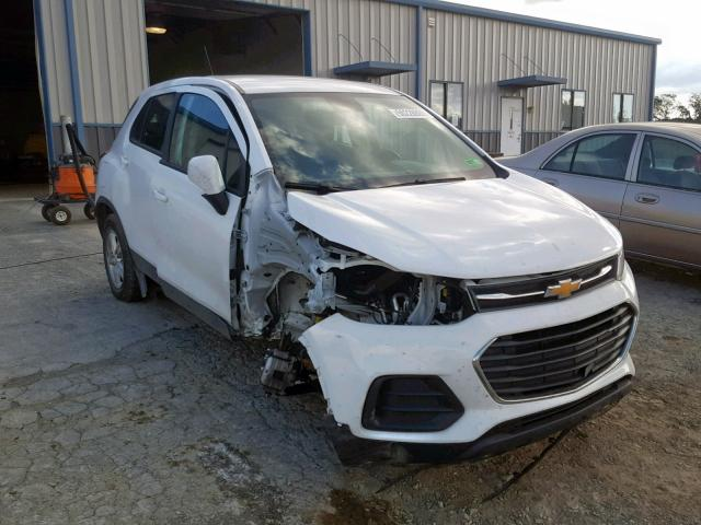 Chevrolet Trax LS salvage cars for sale: 2018 Chevrolet Trax LS