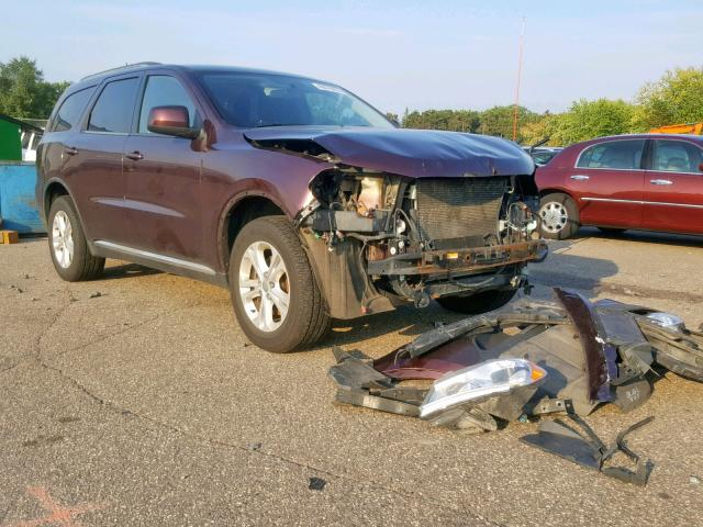 Dodge Durango SX salvage cars for sale: 2012 Dodge Durango SX