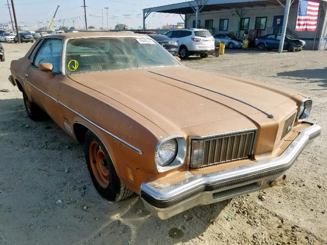 click here to view 1975 OLDSMOBILE CUTLASS SU at IBIDSAFELY