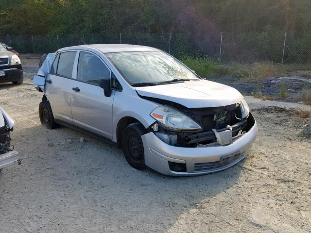Salvage cars for sale from Copart Fredericksburg, VA: 2009 Nissan Versa S