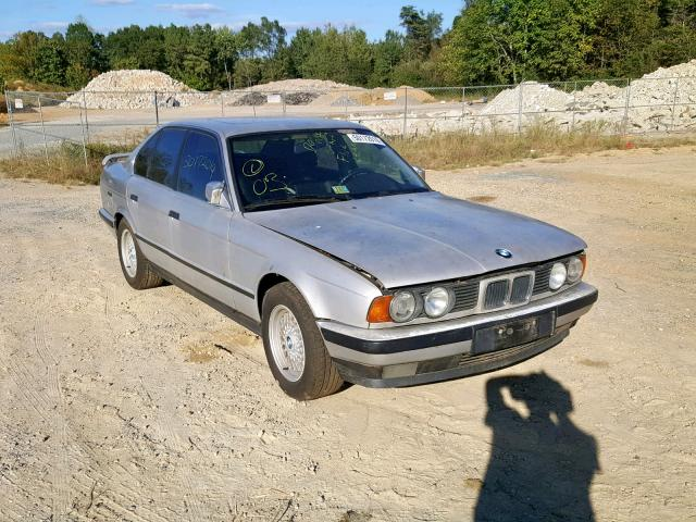 Salvage cars for sale from Copart Fredericksburg, VA: 1992 BMW 5 Series