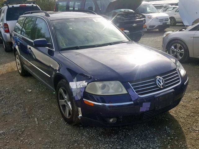 Seattle Car Auction >> 2004 Volkswagen Passat Glx 4motion Photos Wa North