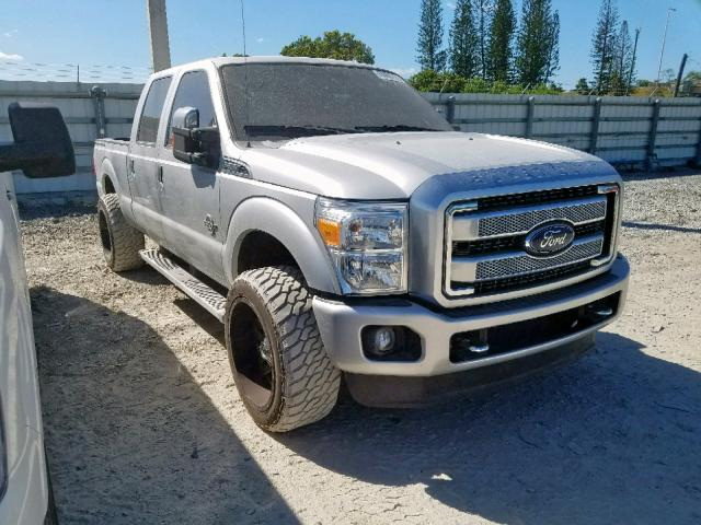 Ford F250 Super salvage cars for sale: 2016 Ford F250 Super