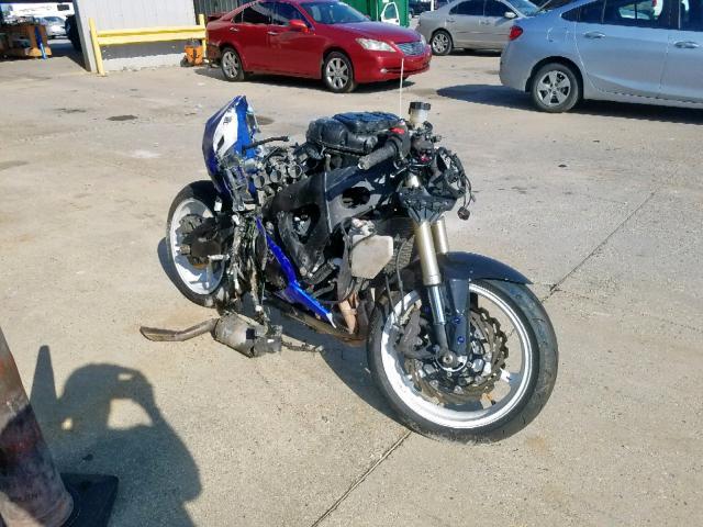 Salvage motorcycles for sale at New Orleans, LA auction: 2007 Suzuki GSX-R600