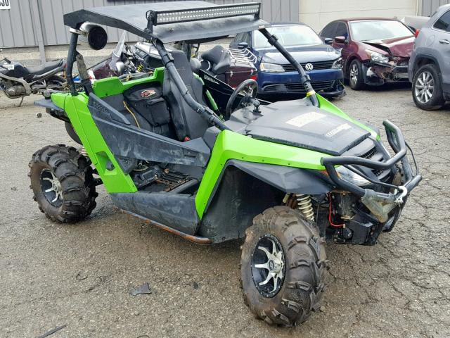 Arctic Cat 695CC salvage cars for sale: 2015 Arctic Cat 695CC